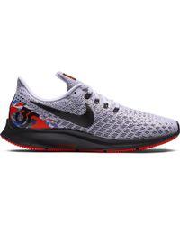 Nike - Air Zoom Pegasus 35 Floral Sneakers, White/ Black-team Orange - Lyst