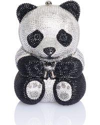 Judith Leiber - Ling Panda Bear Minaudiere - Lyst