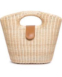 Rocio - Twiggy Wicker Handbag - Lyst