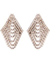 Jennifer Behr - Draped Chandelier Earrings - Lyst