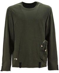 Helmut Lang - Cargo Pocket Long Sleeved T-shirt - Lyst