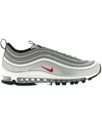 f3c332a27ad Lyst - Nike Air Max 97 Og Qs Silver Bullet Sneakers in Gray