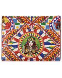 Dolce & Gabbana - Multi Print Card Holder - Lyst