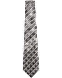 Canali - Diagonal Striped Tie - Lyst