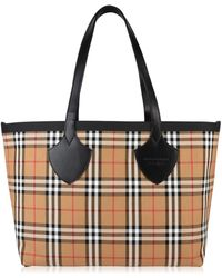 Burberry - Reversible Vintage Check Bag - Lyst
