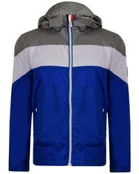 Moncler - Striped Hooded Jacket - Lyst