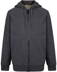 Burberry - Embroidered Logo Jersey Hooded Sweatshirt - Lyst