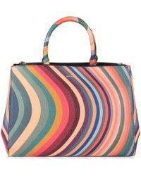 Paul Smith Top Handle Swirl Tote Bag Lyst