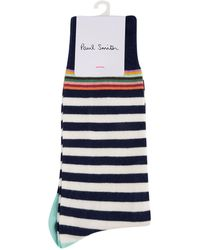 PS by Paul Smith - Top Striped Socks - Lyst
