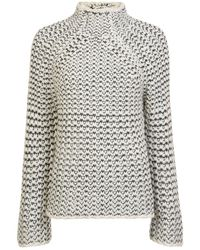 French Connection - Zoe Knit High Neck Jumper - Lyst