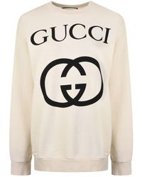88f8f0311 Gucci Manga Print Sweatshirt in Black - Lyst