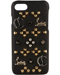 Christian Louboutin - Studded Iphone 7 Case - Lyst