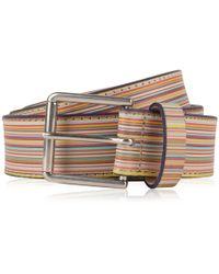 Paul Smith - Stripe Belt - Lyst