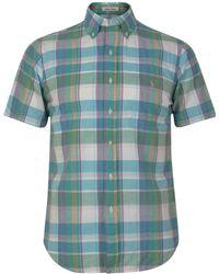 Polo Ralph Lauren - Madras Short Sleeved Shirt - Lyst