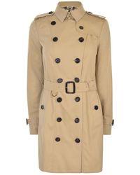 Burberry - Sandringham Short Coat - Lyst