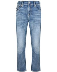 True Religion - Look Relaxed Slim Geno Jeans - Lyst