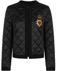 Dolce & Gabbana - Diamond Quilted Jacket - Lyst