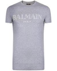 e00695c2 Men's Balmain T-shirts Online Sale - Lyst