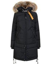 Parajumpers Long Bear Fur Coat - Multicolour