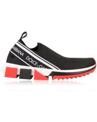 Dolce & Gabbana - Sorrento Knitted Trainers - Lyst