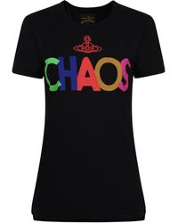 Vivienne Westwood Anglomania - Chaos T Shirt - Lyst
