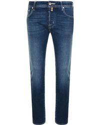 Jacob Cohen - Slim Tailored Jeans - Lyst
