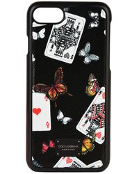 Dolce & Gabbana - Cards Iphone 7 Case - Lyst