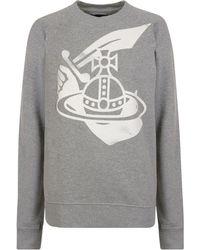 Vivienne Westwood Anglomania - Classic Logo Sweatshirt - Lyst