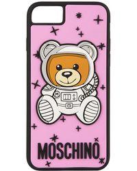 Moschino - Teddy Iphone Case - Lyst