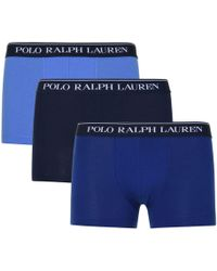 Polo Ralph Lauren - Three Classic Pouch Stretch Trunks - Lyst