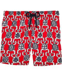 Vilebrequin - Primitive Turtles Swim Shorts - Lyst