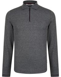 Ted Baker - Coaco Zip Polo Shirt - Lyst