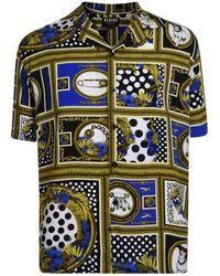 c2bff9d7 Dolce & Gabbana Dog Soldier Print Shirt for Men - Lyst