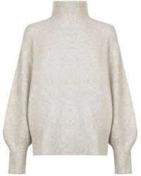 French Connection - Balloon Sleeve Jumper - Lyst