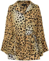 Kendall + Kylie - Leopard Romper - Lyst