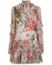 Philipp Plein - Flower Dress - Lyst