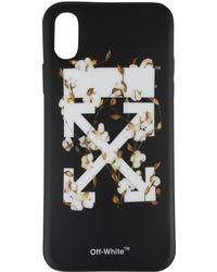 Off-White c/o Virgil Abloh - Floral Arrow Iphone X Case - Lyst