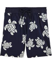 Vilebrequin - Glow Turtle Moorise Swim Shorts - Lyst