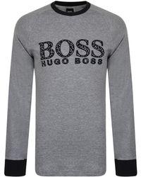 BOSS by Hugo Boss Printed Pajama Logo Set