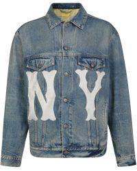 Gucci - Ny Yankees Denim Jacket - Lyst