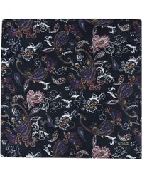 Eton of Sweden - Paisley Pocket Square - Lyst