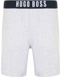 BOSS by Hugo Boss - Identity Logo Shorts - Lyst