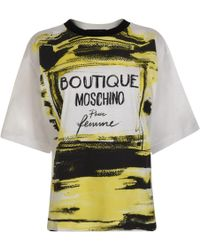 Boutique Moschino - Perfume T Shirt - Lyst