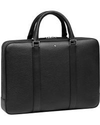 Montblanc - Grained Document Case - Lyst