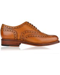 Grenson - Stanley Brogue Shoes - Lyst