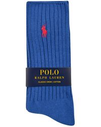 Polo Ralph Lauren - Crew Socks - Lyst
