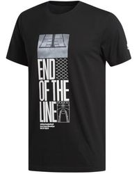 adidas End Of The Line T-shirt - Black