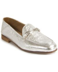 275 Central - Metallic Leather Loafer - Lyst