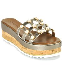 275 Central - Metallic Wedge Slide - Lyst