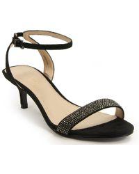 Pelle Moda - Kitten Heel Sandal - Lyst